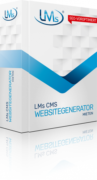 LMs CMS Websitegenerator mieten